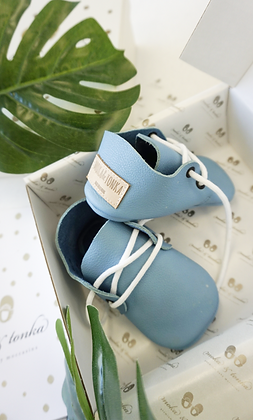 Oxford Baby Blue 6-12 Monate