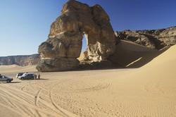 l'arche de l'akakus libye