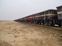 le train minéralier Atar-Nouadhibou