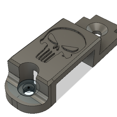 ISSC MK22 Rifle broken buttstock end-plate fix
