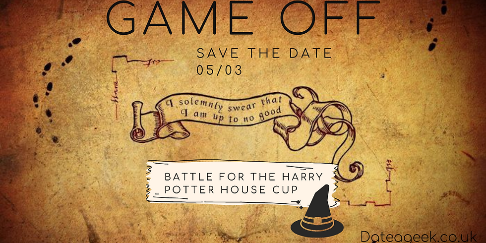 Game Off - Battle for the Harry Potter house Cup