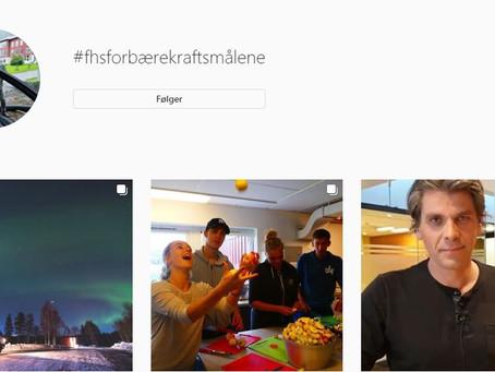 #fhsforbærekraftsmålene -Instagramkampanje