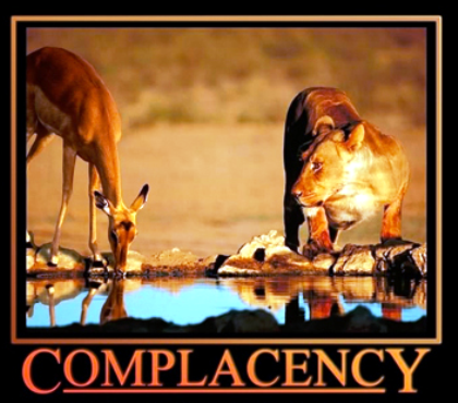 Revelations & Complacency