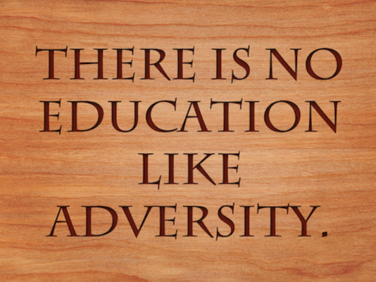 Your Adversities Are Your Advantages