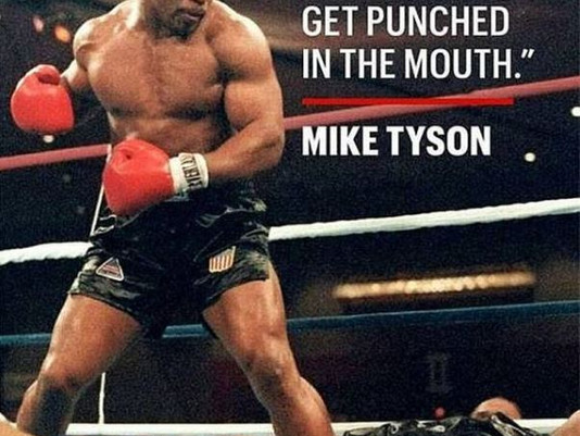 Getting Punched In the Mouth