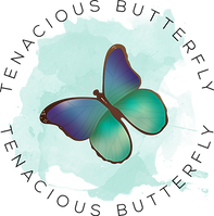 Tenacious Butterfly Logo