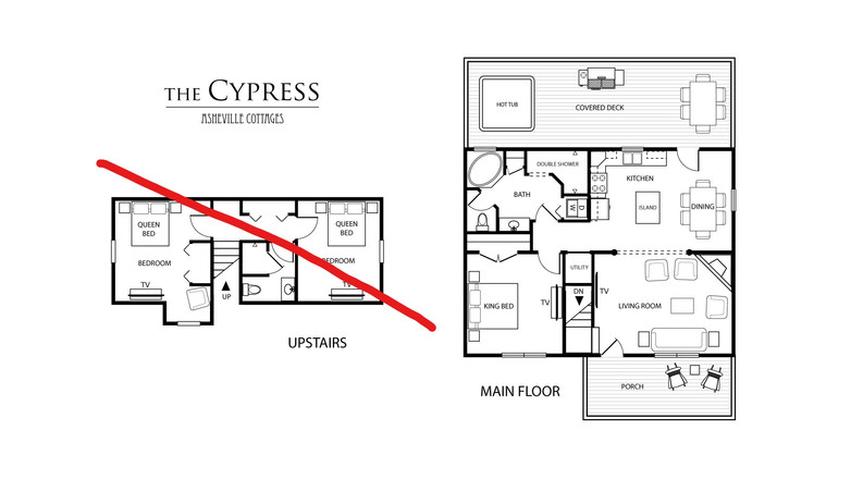The Cypress as a 1 bedroom
