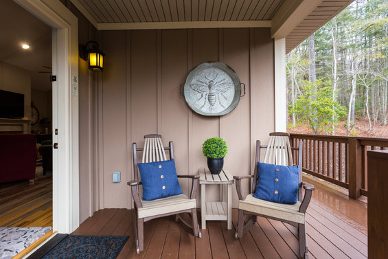 Room for 2 in our rocking chairs