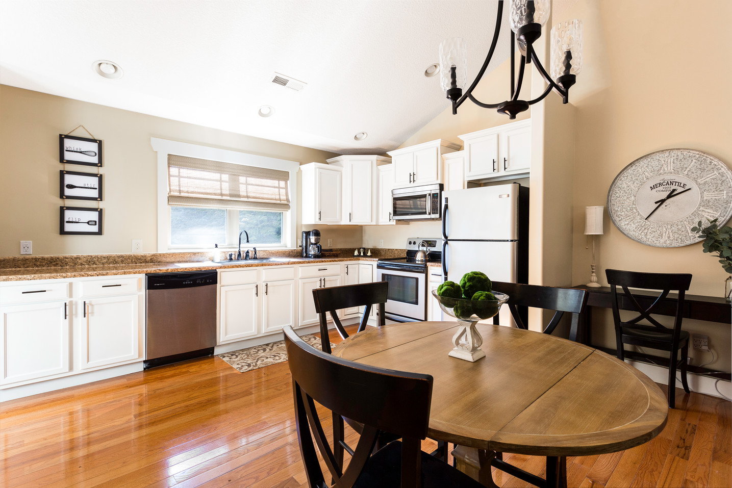 The Dogwood's luxurious kitchen with updated appliances