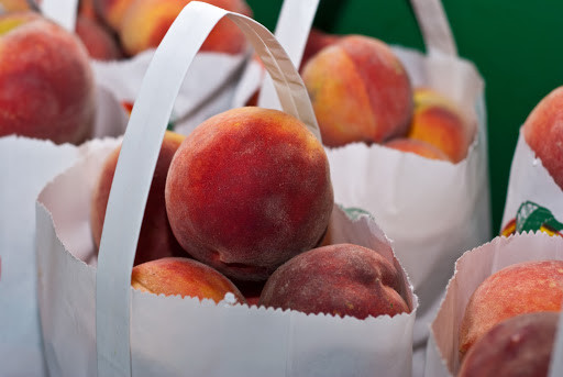 Where to pick peaches in Asheville, NC