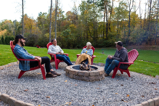 Several family firepits