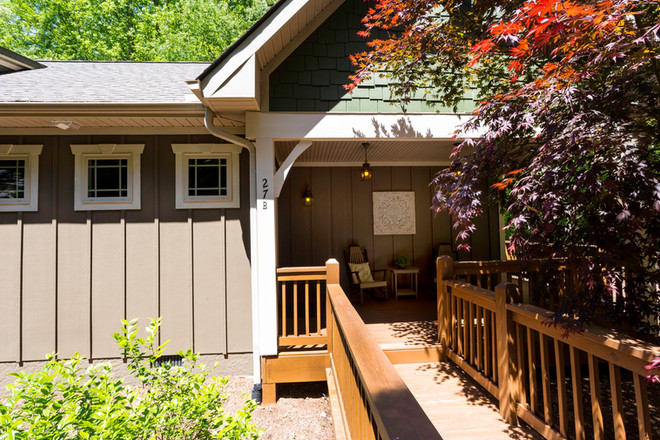 The beautifully clean Maple cottage