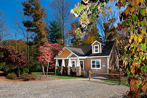 Cabin Rentals in Asheville NC | The Walnut | Asheville Cottages