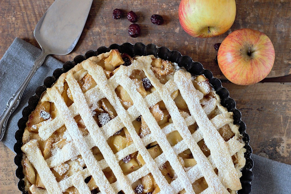 Near our vacation rentals is these beautiful pies from the Baked Pie Company