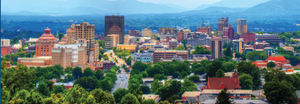 Downtown Asheville-10 minutes from our vacation rentals in Asheville
