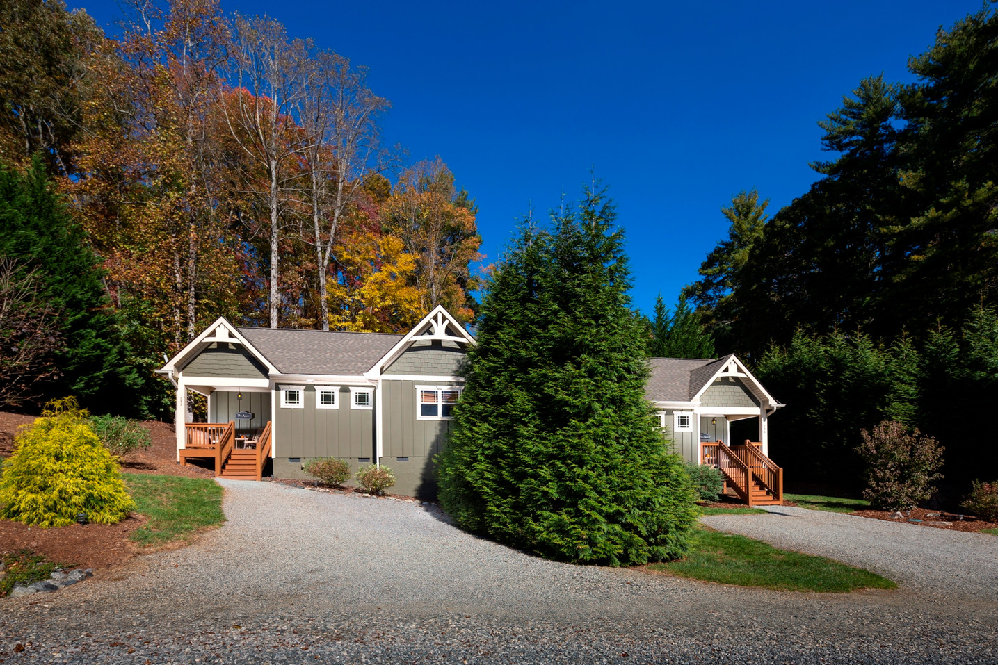 Cottages with views