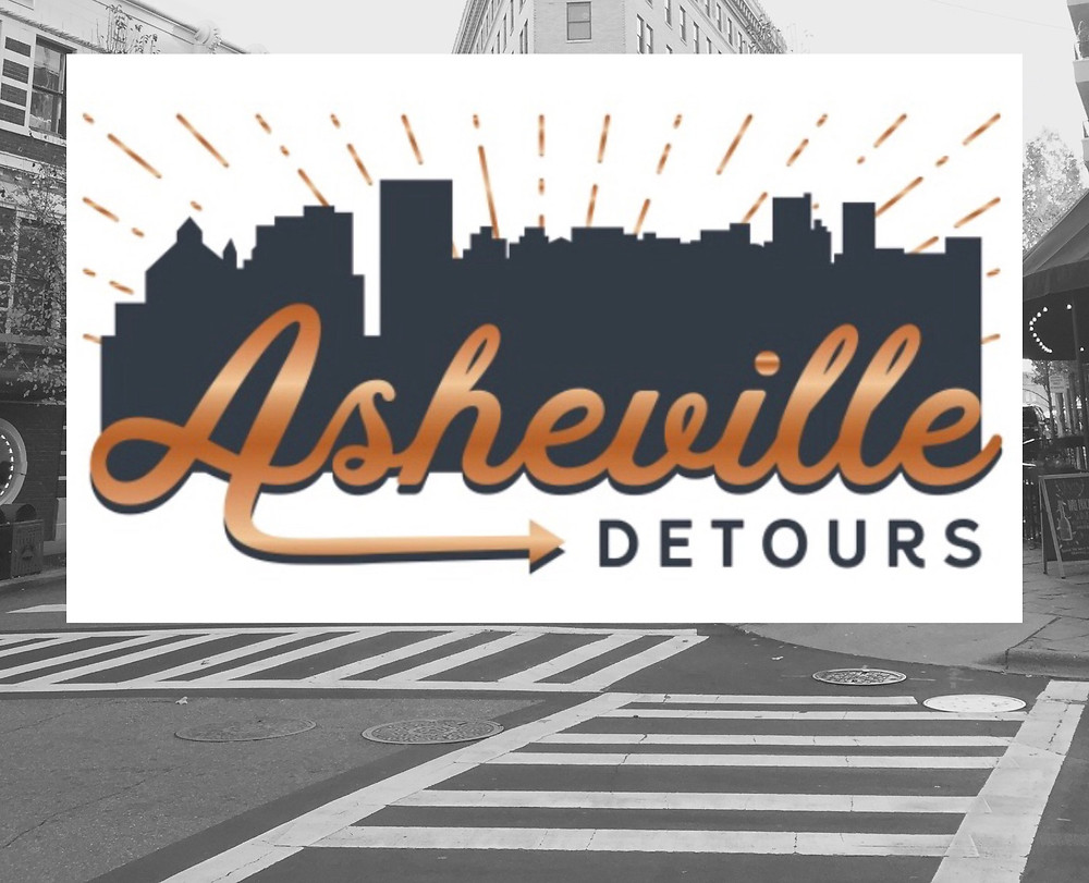 A tour guide close to our vacation rentals in Asheville