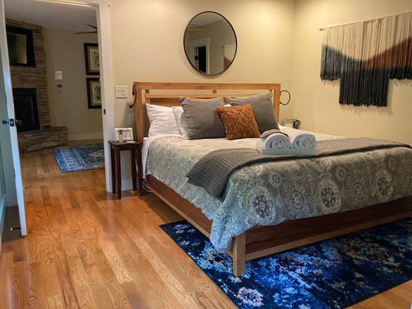 Large, king sized Sleep Number bed