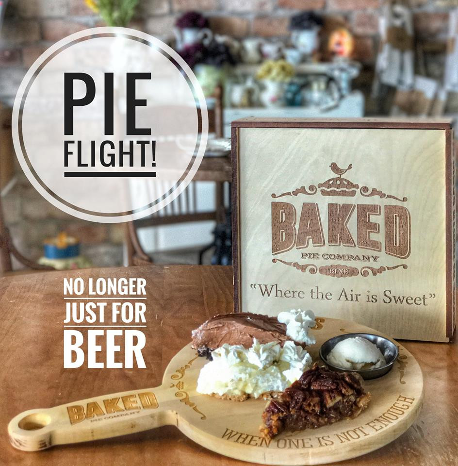 The Baked Pie Company. 10 minutes from our cabins in in Asheville