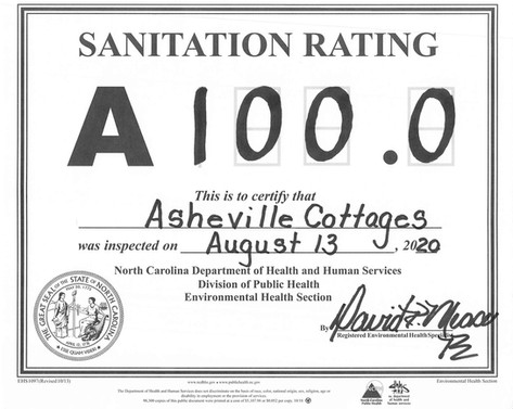 100% rating for the 3rd year in a row!