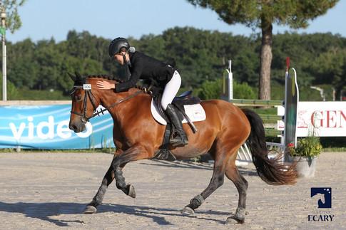 Dalwenn finale 4 ans Sologn'pony