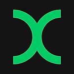 Round X Logo 500x500 322x370 00cc66 & 14