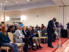 #fbf Caucus Chair, OJ McGhee, speaking u