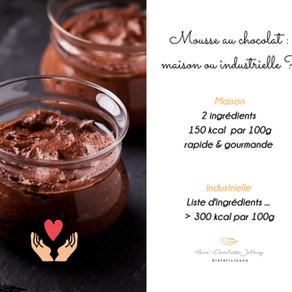 Mousse au chocolat express (2 ingrédients)