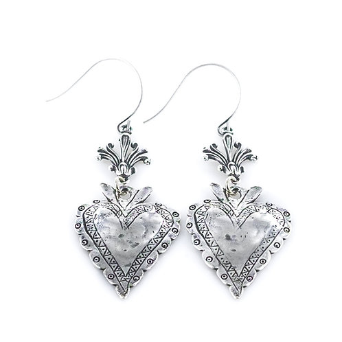 Milagro Heart Earring