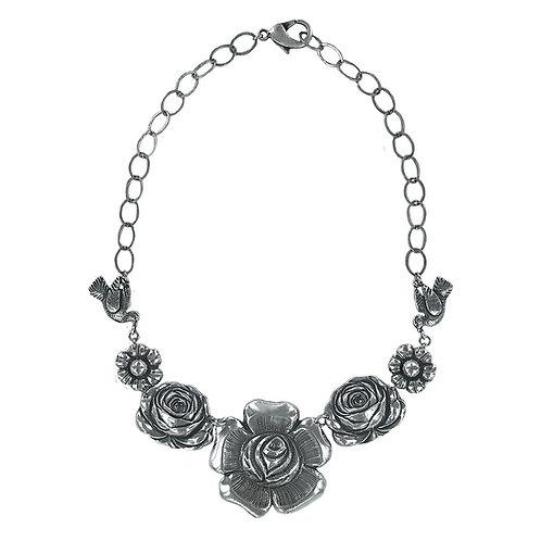 Cuernavaca Necklace silver