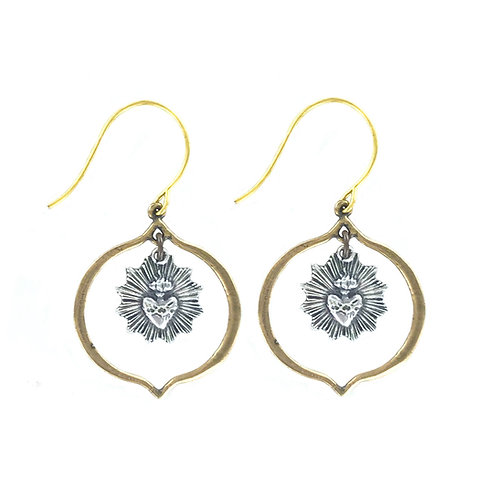 Small Sacre Couer Earring