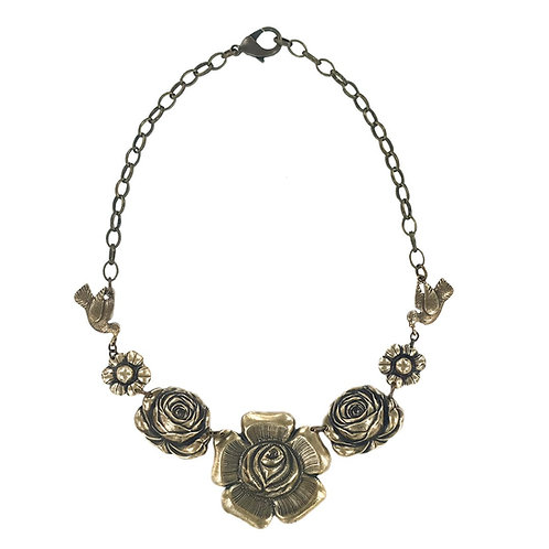 Cuernavaca Necklace bronze