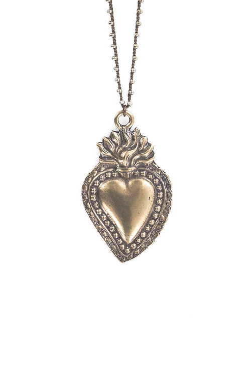 Milagro Heart Necklace
