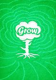wachsen Sie Plakat