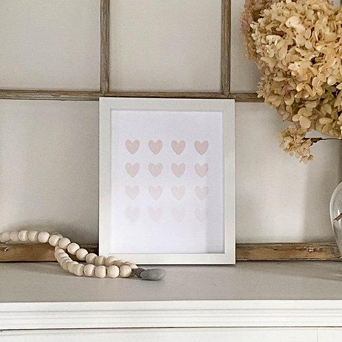 Hearts Valentine's Artwork