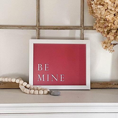 Be Mine Red Valentine's Artwork