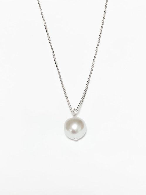 Akoya Simple Necklace