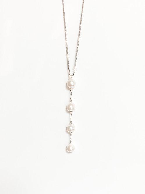PARIS IV silver Necklace