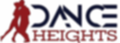 DanceHeights Logo - V10.4.1 (Red on  Red