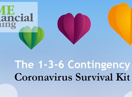 Coronavirus Survival Kit- The 1-3-6 Contingency Plan