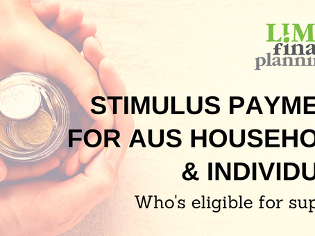 Stimulus payments for Australian Households and Individuals