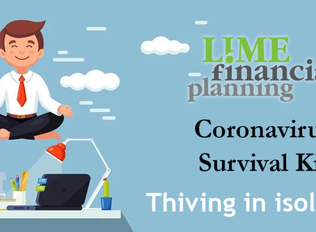 Coronavirus Survival Kit: Thriving in isolation