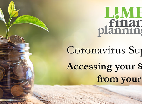 Coronavirus Support: Accessing $10,000 from your Super