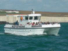Pleasure trip boat Brighton