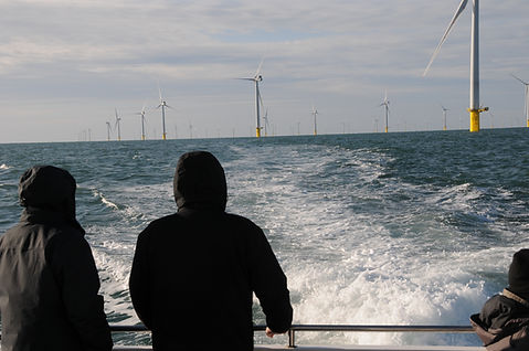 Rampion wind farm tour