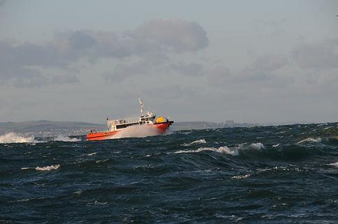 Wind farm transfer vessel Gaillion