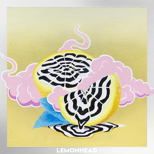 "'Lemonhead' Digital Print - 11"" x 11"""
