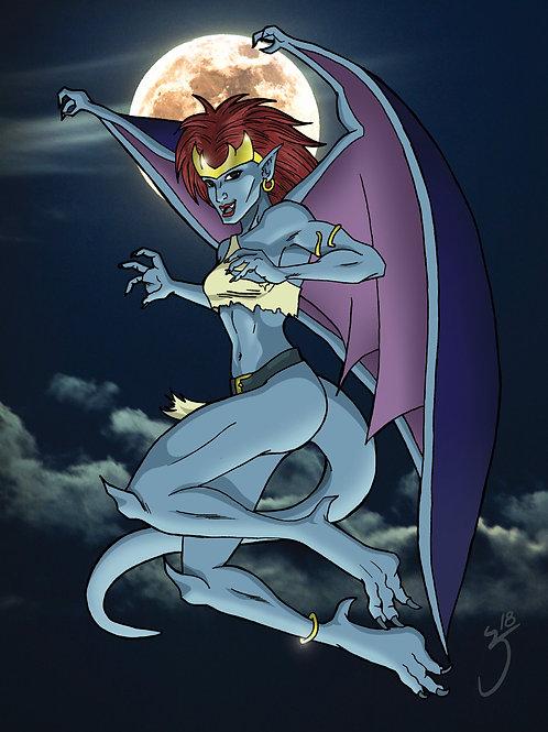 Gargoyles Demona Print