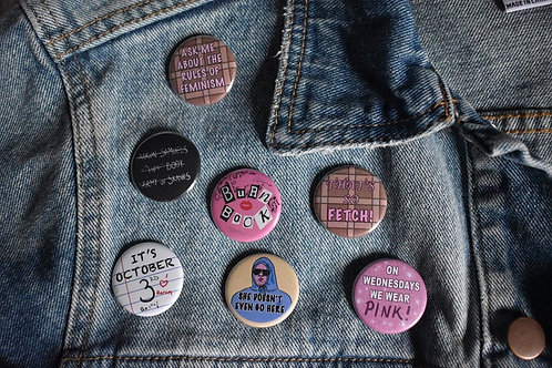 Mean Girls Button Pack