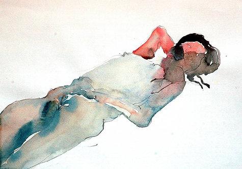 Human body sketch 1